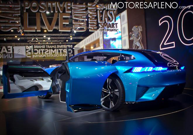 Peugeot Instinct Concept Car en el Salon del Automovil de Buenos Aires 2017 3