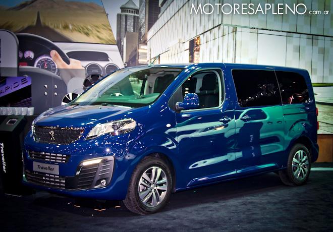 Peugeot Traveller en el Salon del Automovil de Buenos Aires 2017