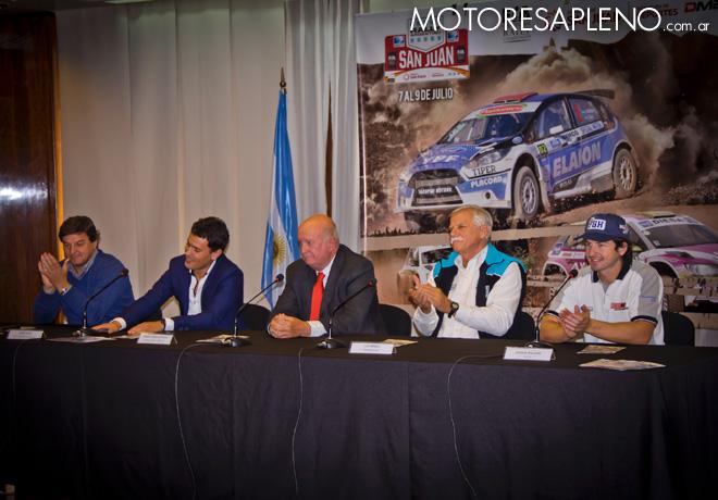 Rally Argentino y Codasur - Lanzamiento oficial del Rally de San Juan en el ACA