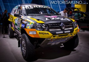 Renault Duster Dakar en el Salon del Automovil de Buenos Aires 2017