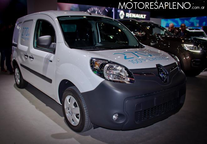 Renault Kangoo ZE en el Salon del Automovil de Buenos Aires 2017