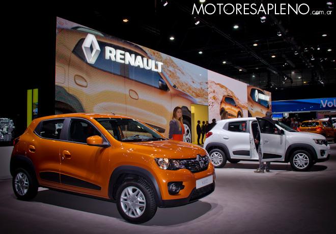 Renault Kwid en el Salon del Automovil de Buenos Aires 2017