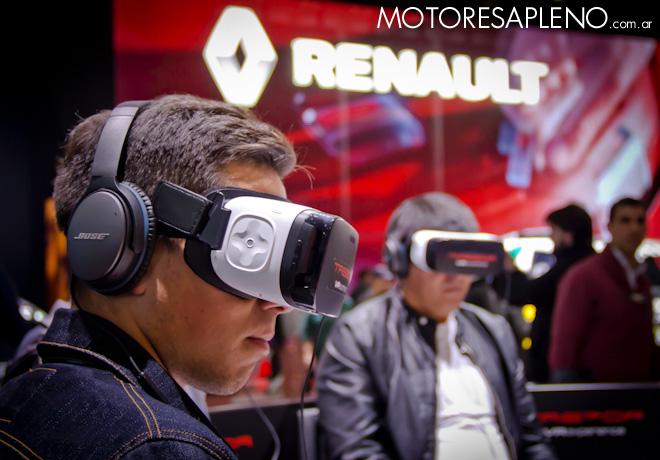 Renault Trezor Realidad Aumentada en el Salon del Automovil de Buenos Aires 2017