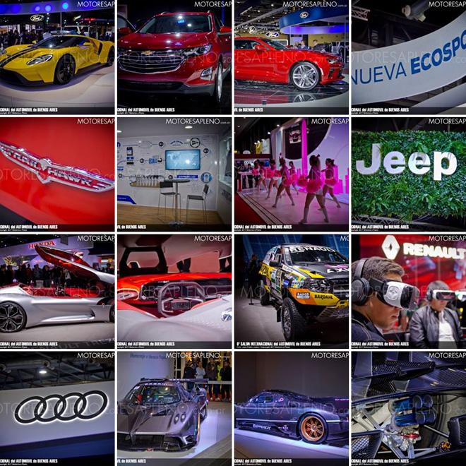 Salon del Automovil de Buenos Aires 2017 - Galeria Facebook