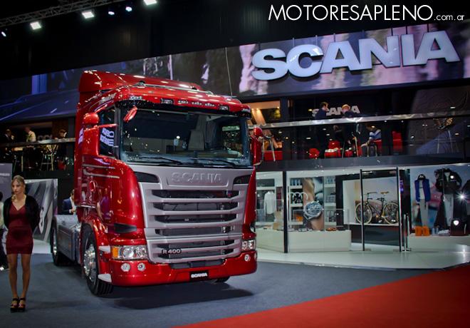 Scania en el Salon del Automovil de Buenos Aires 2017 1