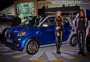 Smart Fortfour en el Salon del Automovil de Buenos Aires 2017
