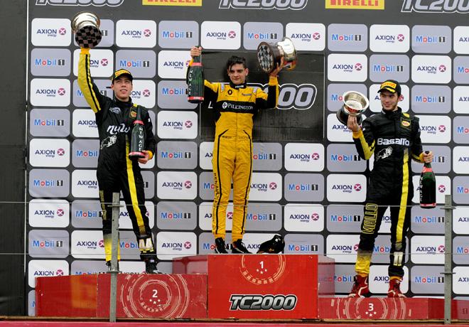 TC2000 - Parana 2017 - Carrera Final - Tomas Gagliardi Genne - Manuel Luque - Santiago Mallo en el Podio