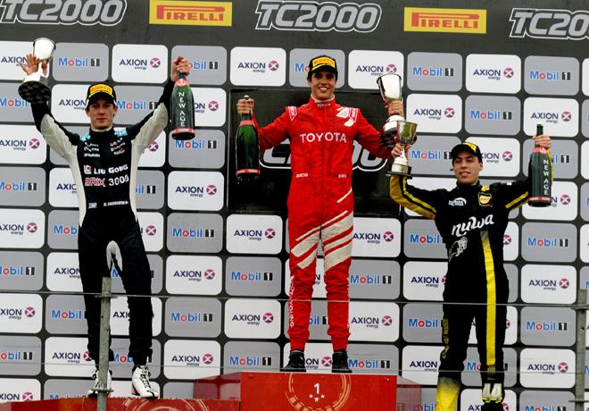 TC2000 - Parana 2017 - Carrera Sprint - Marcelo Ciarrocchi - Juan Cruz Acosta - Tomas Gagliardi Genne en el Podio
