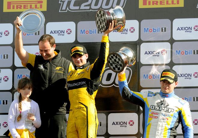 TC2000 - Rio Cuarto 2017 - Carrera Final - Manuel Luque y Federico Iribarne en el Podio