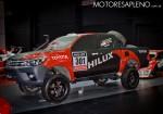 Toyota Hilux Dakar en el Salon del Automovil de Buenos Aires 2017