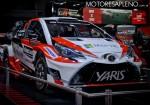 Toyota Yaris WRC en el Salon del Automovil de Buenos Aires 2017