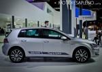 VW Golf GTE Hybrid en el Salon del Automovil de Buenos Aires 2017