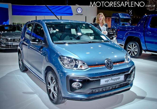 VW Up Pepper en el Salon del Automovil de Buenos Aires 2017