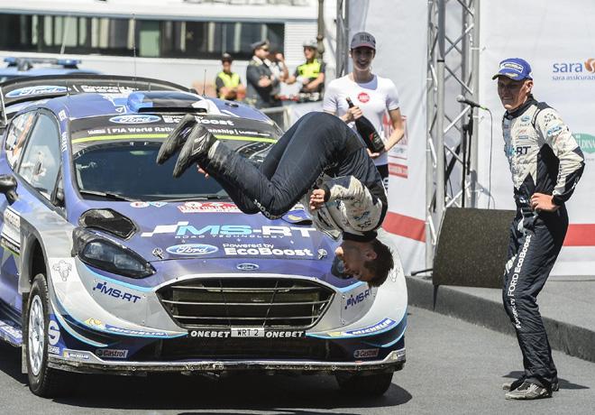 WRC - Italia 2017 - Final - Ott Tanak - Ford Fiesta WRC