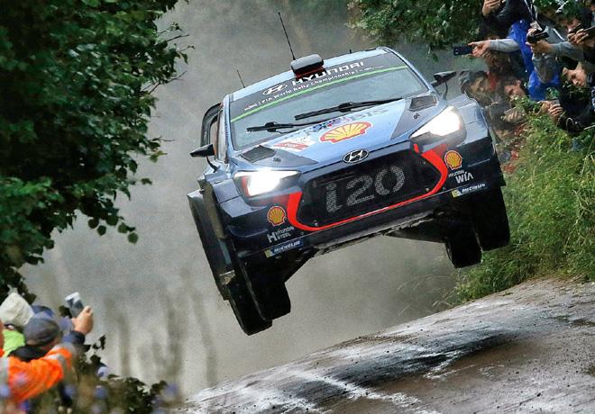 WRC - Polonia 2017 - Dia 1 - Thierry Neuville - Hyundai i20 WRC
