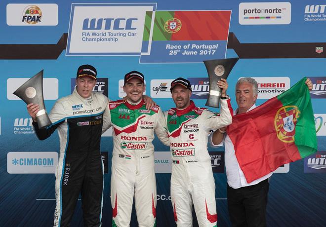WTCC en Vila Real – Carreras: Bennani y Michelisz lograron la victoria en Portugal.
