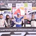 CARX - Rosario 2017 - Maxi Rally - Hernan Kim - Federico Villagra - Fridy Bassi en el Podio