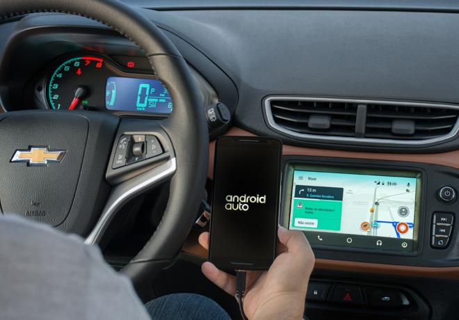 Chevrolet Onix fue elegido para el lanzamiento de Waze en Android Auto