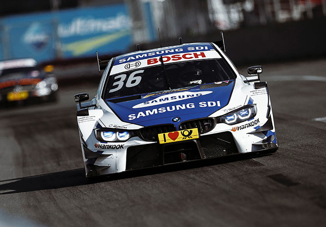 DTM - Norisring 2017 - Carrera 2 - Maxime Martin - BMW M4