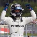 F1 - Austria 2017 - Carrera - Festejo de Valtteri Bottas rumbo al podio