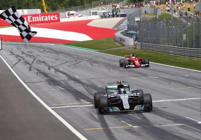 F1 - Austria 2017 - Carrera - Valtteri Bottas - Mercedes GP