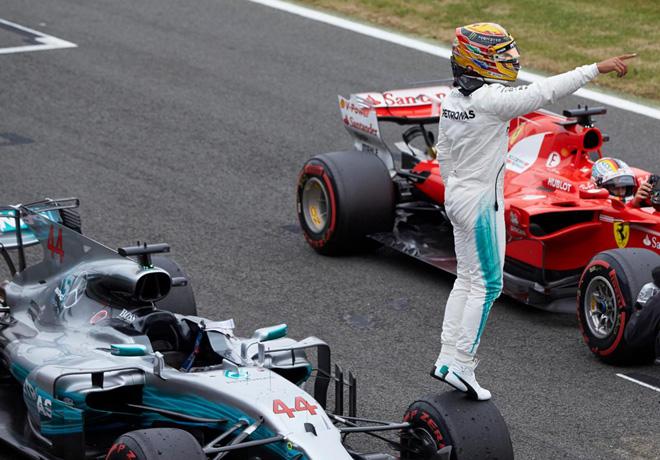 F1 - Gran Bretana 2016 - Clasificacion - Lewis Hamilton - Mercedes GP