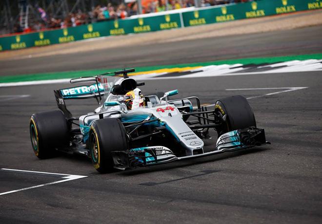 F1 - Gran Bretana 2017 - Carrera - Lewis Hamilton - Mercedes GP