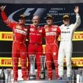 F1 - Hungria 2017 - Carrera - Kimi Raikkonen - Sebastian Vettel - Valtteri Bottas en el Podio