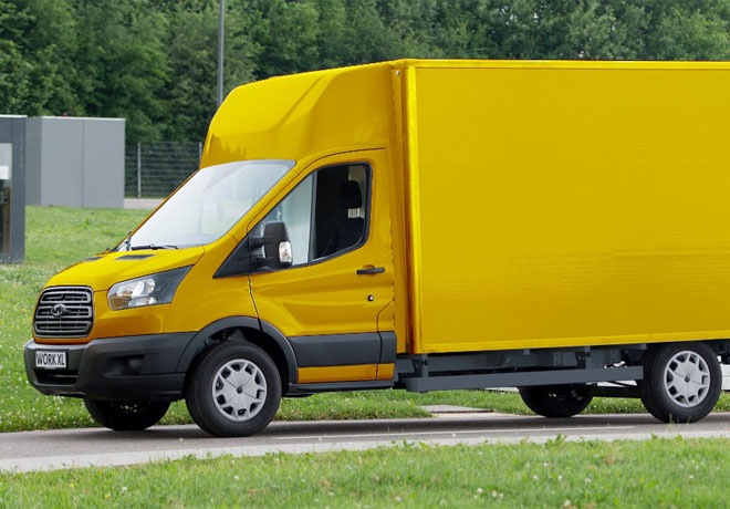 Ford y Deutsche Post fabricaran una furgoneta electrica