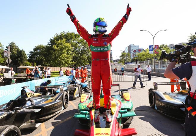 Resultado de imagen para luca di grassi formula e carrera 1 montreal 2017