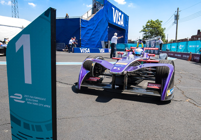 Formula E - Nueva York 2017 - Carrera 2 - Sam Bird - DS Virgin Racing