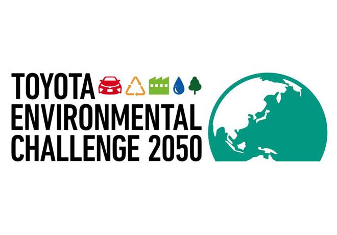 Logo Toyota Enviromental Challenge 2050
