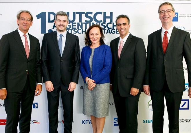 Primer Foro Economico Argentino-Aleman en Frankfurt