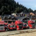 Scania y Via Cargo transportaron las nuevas maquinas pisa-nieve de la empresa Catedral Alta Patagonia