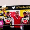Top Race - Concordia 2017 - Carrera - Franco Girolami - Gabriel Furlan - Matias Rodriguez en el Podio