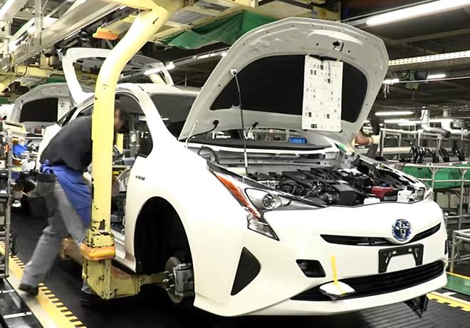 Toyota - Linea de pintura de Prius