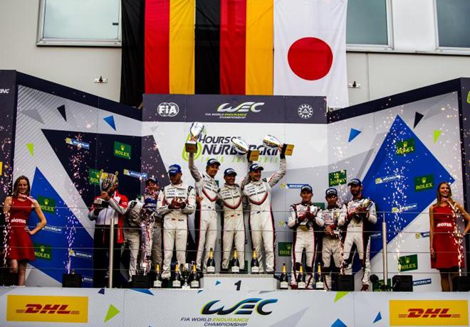 WEC - 6 hs de Nurburgring 2017 - El Podio