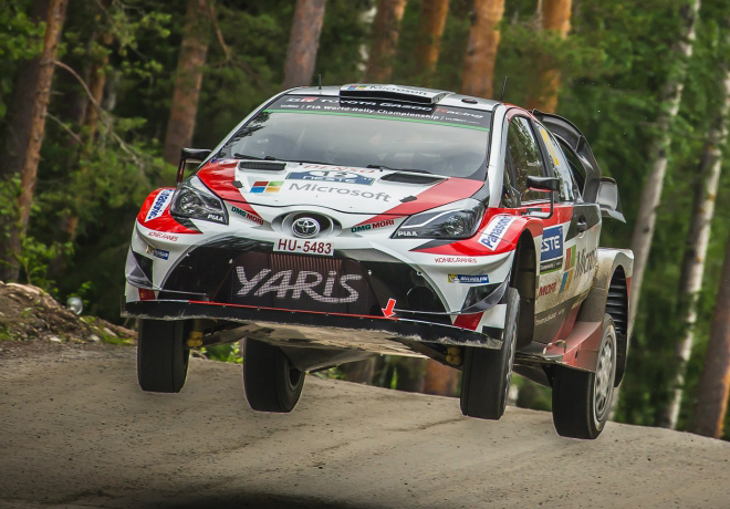 WRC - Finlandia 2017 - Dia 3 - Esapekka Lappi - Toyota Yaris WRC