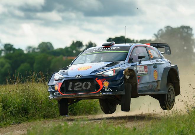 WRC - Polonia 2017 - Dia 2 - Thierry Neuville - Hyundai i20 WRC