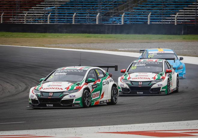 WTCC - Termas de Rio Hondo - Argentina 2017 - Carrera 2 - Norbert Michelisz - Honda Civic