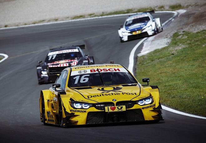 DTM en Zandvoort – Carrera 1: Timo Glock encabezó el triplete de BMW.