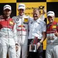 DTM - Zandvoort 2017 - Carrera 2 - Mike Rockenfeller - Marco Wittmann - Loic Duval el Podio