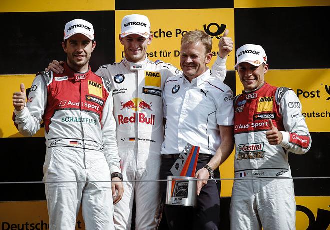 DTM en Zandvoort – Carrera 2: Ganó Wittmann y se prende en la lucha por el campeonato.