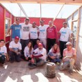 FCA construyo nuevas casas junto a la ONG Techo en Cordoba