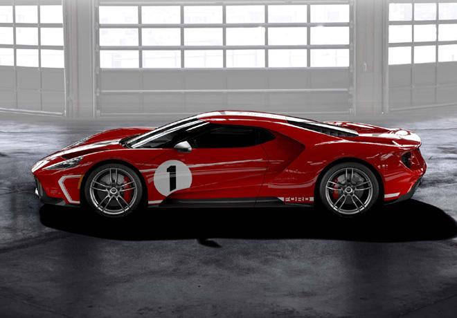 Ford presenta la Edición Especial del Ford GT en homenaje al ganador de Le Mans 1967.