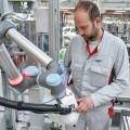 Humanos y robots trabajan cooperativamente en Audi AG
