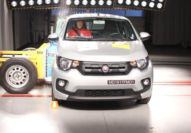 Latin NCAP - Fiat Mobi - con 2 Airbags