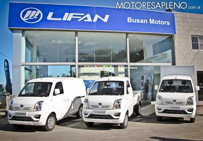 Lifan - Se presento la Familia Foison en la Concesionaria Busan Motors 1