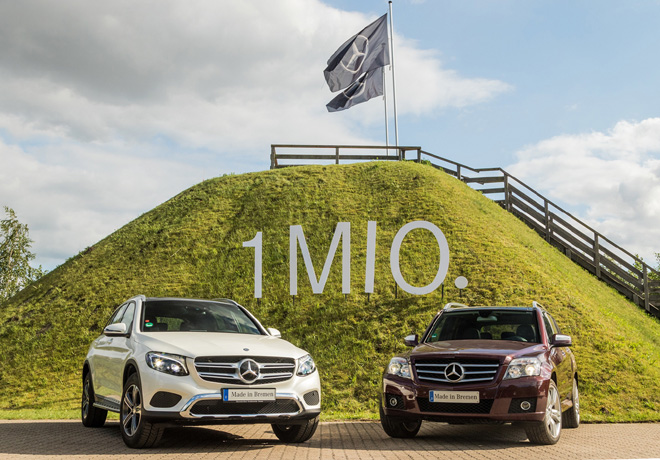 Mercedes-Benz - 1 millon de GLC vendidas