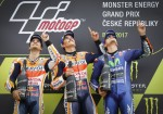MotoGP - Brno 2017 - Dani Pedrosa - Marc Marquez - Maverick Vinales en el Podio